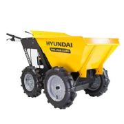 Hyundai HYMD250 196cc 4-Wheel Drive 250kg Payload Mini Dumper / Power Barrow